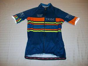 SAFETTI CYCLING BICYCLE JERSEY WOMENS MEDIUM ROAD/MOUNTAIN BIKE JERSEY NICE!