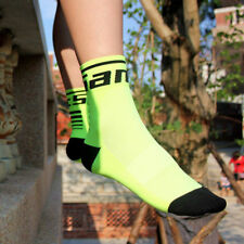 SANTIC Anti-sweat Running Cycling Breathable Socks Ankle Green Socks Two Pairs