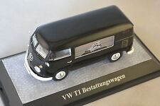 PREMIUM 18480 - VOLKSWAGEN VW T1 Corbillard Noir  1/43