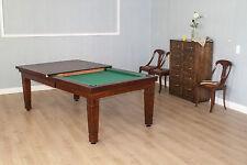 POOL Billard ELSASS 7 ft Billardtisch Ess- und Billiardtisch Inkl Abdeckplatte