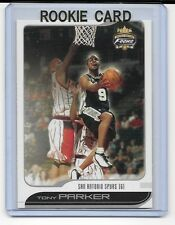 Tony Parker 2001-2002 01-02 Fleer Focus Rookie Card #114  numberedout of 1850