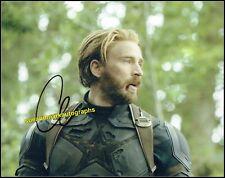 Chris Evans Captain America Infinity War End Game Signed Autograph UACC RD 96