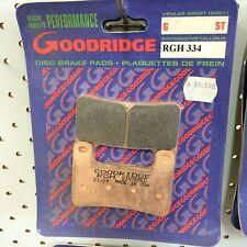 Goodridge Brake pads RGH334 suit Suzuki GSX-R 1000, Hayabusa, GSX-R 600, 750