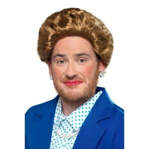 Margaret Thatcher Wig Iron Lady UK Prime Minister 80s Fancy Dress wig