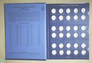 USED 1909-1940 LINCOLN CENTS WHITMAN ALBUM #9405 - NO COINS