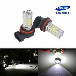 2x H8 H9 H11 AMPOULE 30W LED BLANC XENON ANTI BROUILLARD FEUX DE JOUR DRL LAMPE