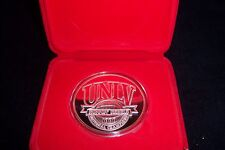 UNLV RUNNING REBELS 1990  CHAMPIONS  RARE  5.6 oz .999 FINE SILVER COIN  PROOF +
