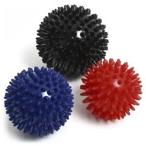 3 x Spiky Massage ball Spikey Pilates Balls Set Trigger Point Release Massager