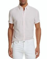 The Men's Store at Bloomingdale's Linen Cotton Regular Fit Button-Down Shirt, M