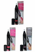 Sally Hansen Color Quick Fast Dry Nail Polish Trio Smoke Fumee / Hot Pink / Red
