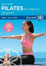 Pilates Exercise DVD - Quick Start Pilates for Weight Loss - Ana Caban!