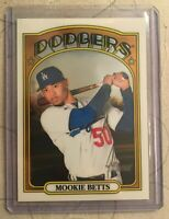2021 Mookie Betts Topps Heritage Chrome 112/999 - Low Number
