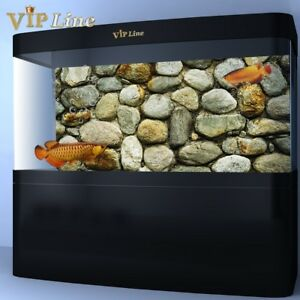 Stone Wall Reptile HD Tank Background Poster Aquarium Decorations Landscape