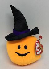 Retired Ty Halloweenie Beanies Halloween Witchy 2012 Nwt