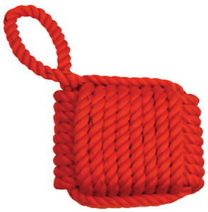 MAMMOTH SMALL ROPE CUBE WITH HANDLE BRAIDED CHEW. TO USA