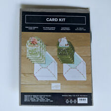 Stampin' up Precious Parcel Card Kit 8 Pocket Cards With Inserts 2 Designs