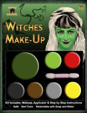 WITCH MULTI PALLET MAKEUP HALLOWEEN FACE PAINTING FANCY DRESS ACCESSORY