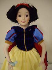 "The Ashton Drake Galleries-Snow White, 13 1/2"" Inch Porcelain Doll"