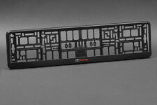 2 x Toyota Euro License Number Plate Frame Tag Holder Free Shipping