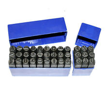 6MM Letter and Number Punch Stamp Punch Set Hardened Steel with Storage Case
