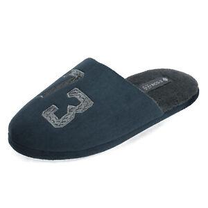 DREAM PAIRS Men's Memory Foam Cozy Fleece Slippers Slip-on Winter Warm Shoes