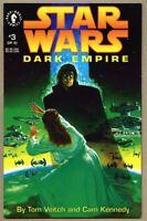 Star Wars Dark Empire #3-1992 nm 9.4 Dark Horse Comics 1st Standard cover