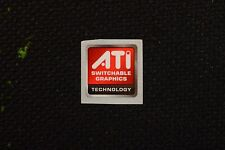 AMD Radeon ATI Sticker 16.5x19.5mm Case Badge USA Seller!