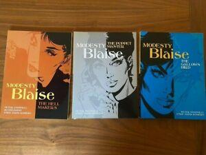 Modesty Blaise Graphic Novel Titan Books Bundle!