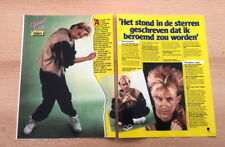 HOWARD JONES 2 page ARTICLE / clipping from Joepie magazine (Belgium)