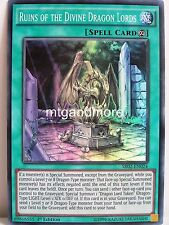 Yu-Gi-Oh - 1x ruina of the Divine Dragon Lords-sr02-structure Deck Rise of