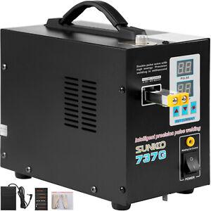 SUNKKO-737G Pulse Battery Spot Welder Welding Soldering Machine for 18650 1500W