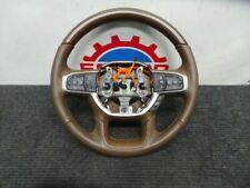 19 20 Ram longhorn woodgrain brown steering wheel oem