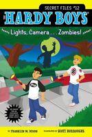 Lights, Camera . . . Zombies! (Hardy Boys: The Secret Files) by Franklin W. Dixo