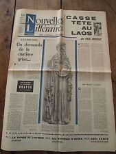 Les nouvelles littéraires - Avril 1964 - N°1913 - Littérature Belge