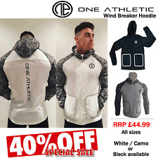 MENS BODY BUILDING JACKET ONE ATHLETIC RUNNING JACKET LIGHTWEIGHT GYM ZIP TOP