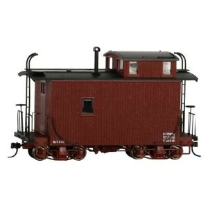 Bachmann Trains 26566 On30 Scale 1:48 Offset Cupola Caboose 18 Foot Model Train
