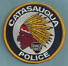 CATASAUQUA PENNSYLVANIA POLICE PATCH INDIAN