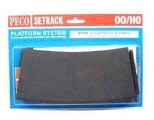 ST-292 PECO Curved Platform Brick Edging (2pcs) 00/H0 Gauge UK NEW