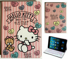For Apple iPad Pro 9.7'' iPad Air 1-2 iPad 9.7 Hello Kitty New Pink Case Cover +