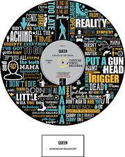 QUEEN - MEMORABILIA - Bohemian Rhapsody- POSTER Art - Ltd Edition - Ideal Gift