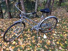 Miami Sun Vintage 3 speed cruiser commuter bike RARE bicycle silver 2 wheel exc