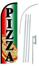 Pizza Flutter Feather Flag Sign Blade Banner 30% Wider Super Swooper