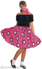 50'S GIRL ADULT HALLOWEEN COSTUME STANDARD ONE SIZE