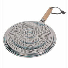 2 x SIMMER RING PAN MAT HEAT DIFFUSER FOR ELECTRIC OR GAS COOKER-DIAMETER 21cm