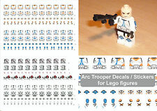 Decals -Arc Trooper (Star Wars Style) stickers for lego