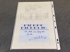 PIERRE MICHELIN 1964 AUTOGRAPHES DÉDICACES  FOOT FOOTBALL SOCCER
