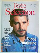 SÉLECTION DU READER'S DIGEST DE JUIN 2000, EN COUVERTURE: FORCE MAJEURE