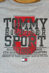 FREE FAST SHIP! Tommy Hilfiger Sport Muscle Shirt Vintage? SAME DAY SHIP! RARE!!