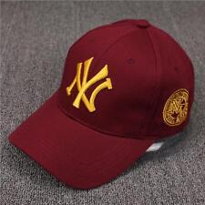 New Mens Womens Baseball Cap Hip-Hop Hat Adjustable NY Snapback Sport Unisex