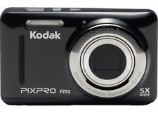 Kodak PixPro FZ53 16MP 5x Optical Zoom 720p 28mm Wide Lens Digital Camera Black
